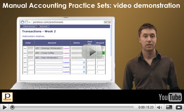 accounting practical practice problems Exercise 4: double entry bookkeeping (simple) in this exercise you must identify the debit and credit components of given financial transactions the exercise will assist you to practice and test your understanding of double entry bookkeeping principles.